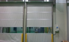 General type high speed automatic door (light gray sheet used)