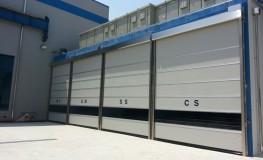 General type high speed automatic door (Shutter type)